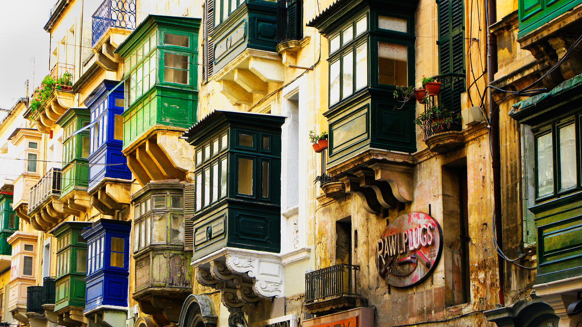 Maltese Traditional Balconies
